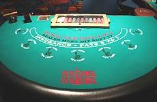 블랙잭의 테이블(NYNY)